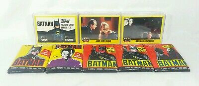 Batman Movie Series 2 132 NM Complete Card Set - 1989 Topps