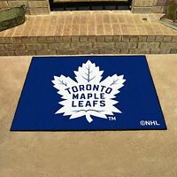 Toronto Maple Leafs 34 X 43 All Star Area Rug Floor Mat