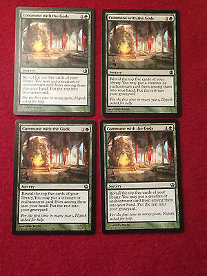 4x Commune with the Gods MTG Magic Theros THS x4