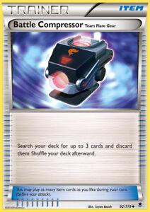 Battle Compressor Phantom Forces 92 Playset Pokemon Cards x4