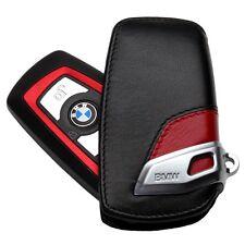 374- ///M BMW MONOGRAM EMBLEM BADGE LOGO Key Leather Pouch Cover Case F30 F10