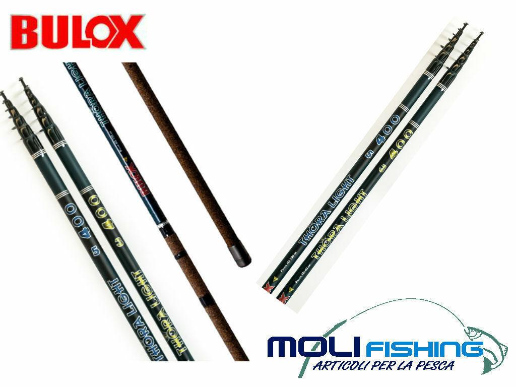 Fishing rod English bulox Thora Light 4.50 M AZ. 4 - 60 gr carbon braided
