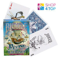 BICYCLE FLYING MACHINES PLAYING CARDS DECK MAGIC TRICKS USPCC SEALED USA NEW