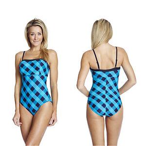 bbc50a08f35977 Das Bild wird geladen Speedo-Badeanzug-mit-Koerbchen-Cups-Schwimmanzug-Damen -Frauen-