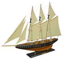 Navyline Holz Modellschiff Columbia Nachbau Modellboot Segelschiff Stoffsegel
