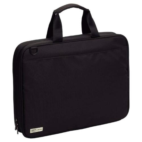 LIHIT LAB  Japan Pen Pencil School Carrying Bag A7581-24 Black