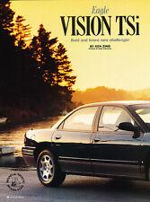 1993 Eagle Vision TSi Sedan - Road Test -  Classic Original Article H95