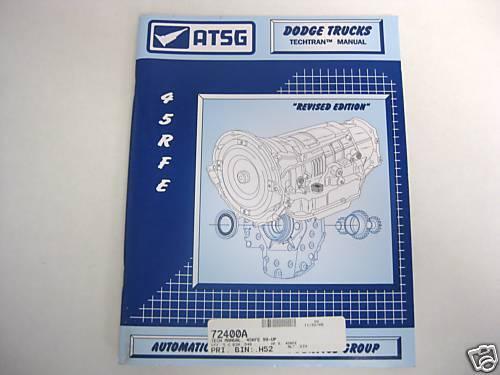 45RFE Technical Manual