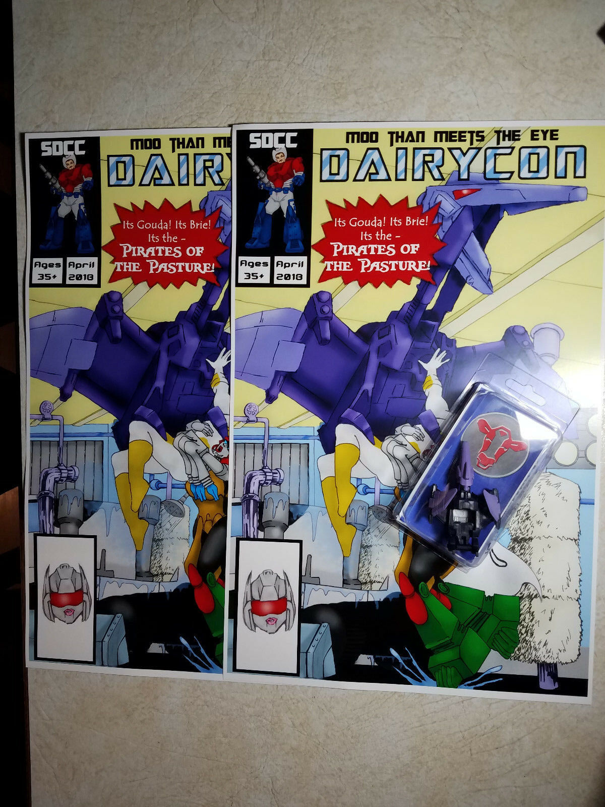 Transformers 4-6-18 Dairycon Exclusive PIRATE PETE Pirates Of Of Of The Pasture 5169dc