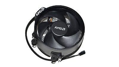 NEW Original AMD Ryzen Wraith Steal AM4 CPU Cooler slim Heatsink Fan 712-000046