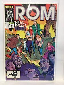 Rom-Spaceknight-64-F-VF-1st-Print-Marvel-Comics