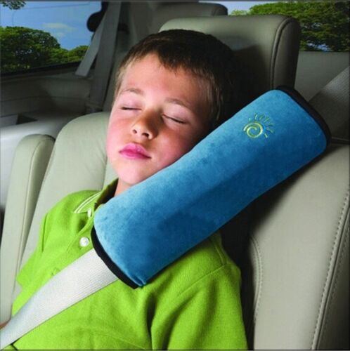 Child Car Safety Seat Belt Pillow Shoulder Strap Pad Cushions Head Supports Kid
