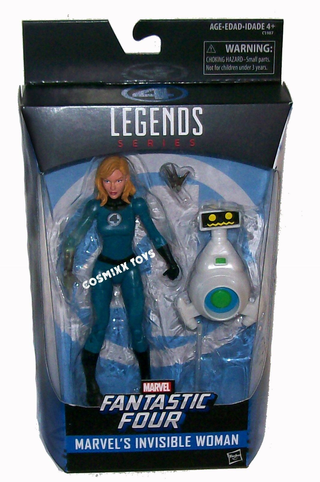 MARVEL LEGENDS EXCLUSIVE SERIES SERIES SERIES FANTASTIC FOUR INVISIBLE WOMAN FIGURE HASBRO ce35c9