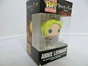 Attack on Titan Annie Leonhart Pocket Pop Keychain Vinyl Figure