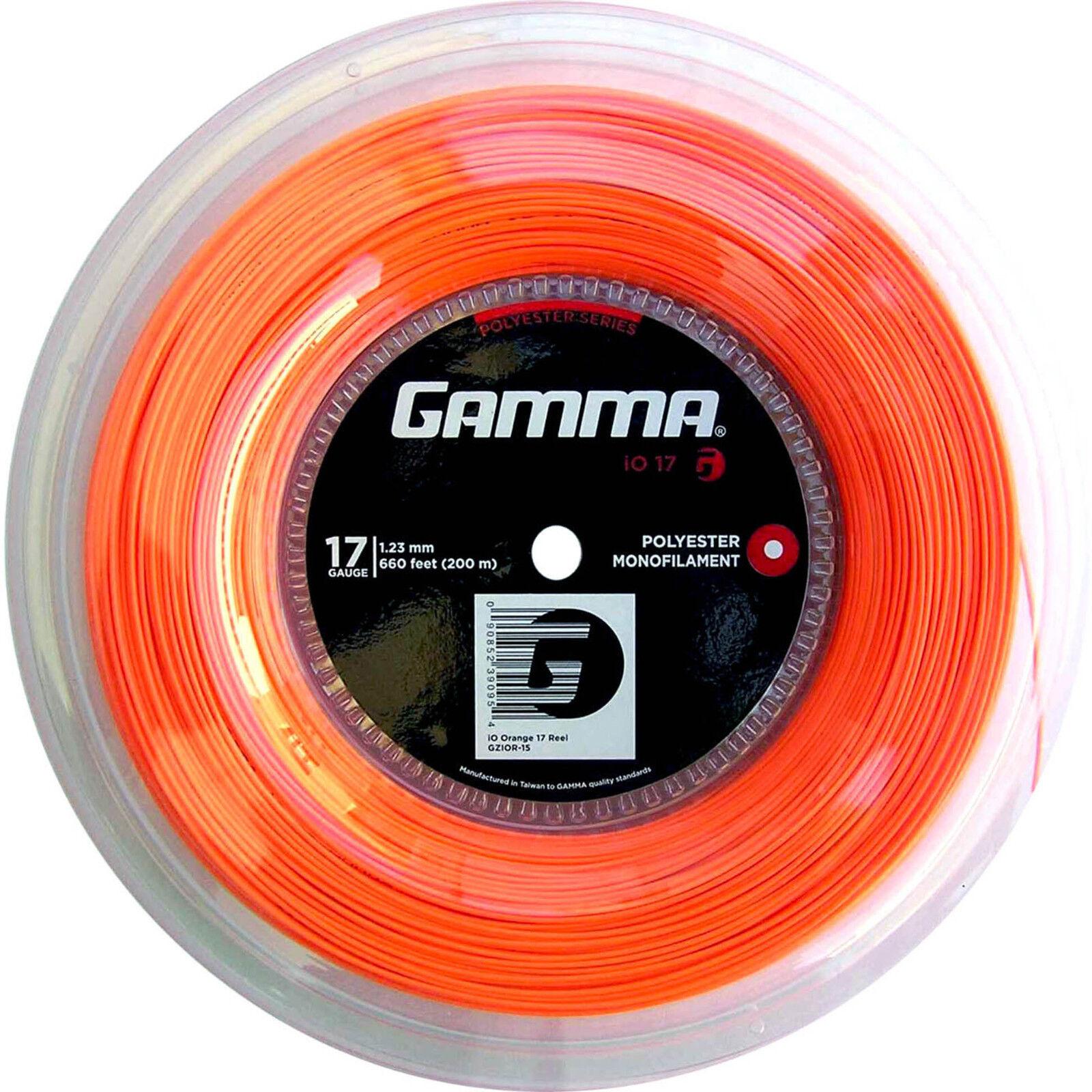 Gamma iO - neon Orange Orange Orange - 200 Meter Rolle  + 20 Besaitungsaufkleber GRATIS 8fb2ca