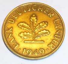 Hochzeitsring Auch als Halskette m\u00f6glich! Ring Coin Ring M\u00fcnzringe Bundesrepublik Deutschland 10 Pfennig