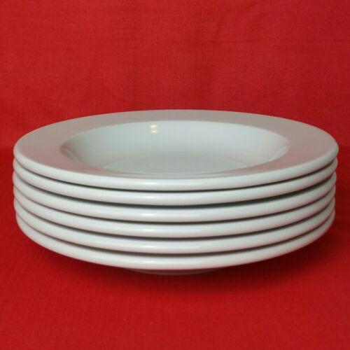 6 Suppenteller Arzberg Cult Weiß 24 cm tiefe Teller Porzellan