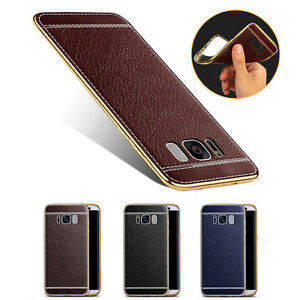 pu leder handyh lle f r samsung galaxy s8 s8 plus handy tasche case cover etui ebay. Black Bedroom Furniture Sets. Home Design Ideas