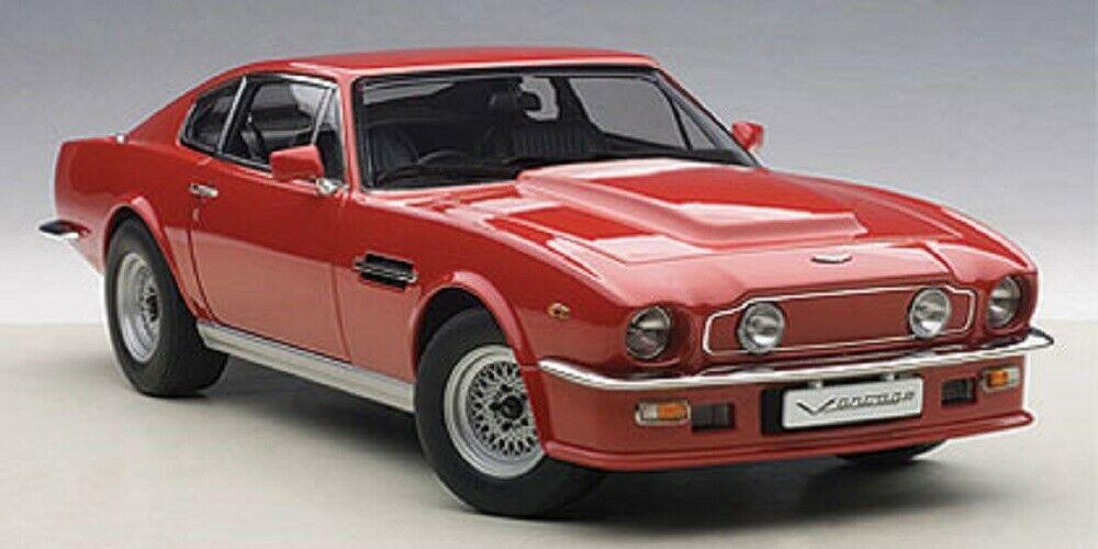 ASTON MARTIN V8 VANTAGE 1985 - SUFFOLK RED 1 18TH SCALE AUTOART 70222