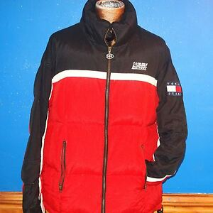 ffb9e7aa84b Image is loading Vintage-90s-Tommy-Hilfiger-Tommy-Jeans-down-puffer-