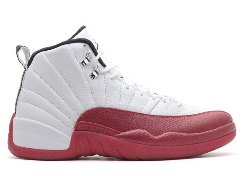2009 Nike Air Jordan 12 XII Retro Cherry Size 15. 130690-110 1 2 3 4 5