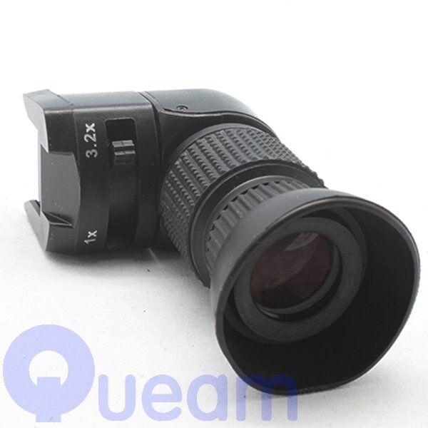 1-3.2x Right Angle Finder For Canon 5D Mark II Nikon D5000 Sony Pentax Fujifilm