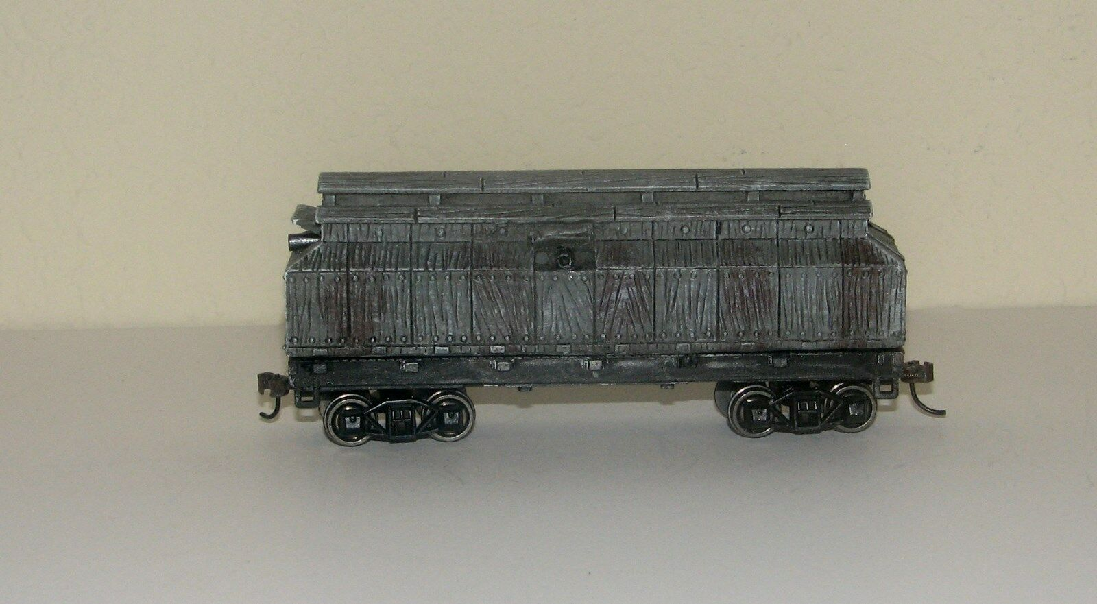 Hawthorne Village Civil War Armored Rail Monitor Car MilitaryON30 Scale