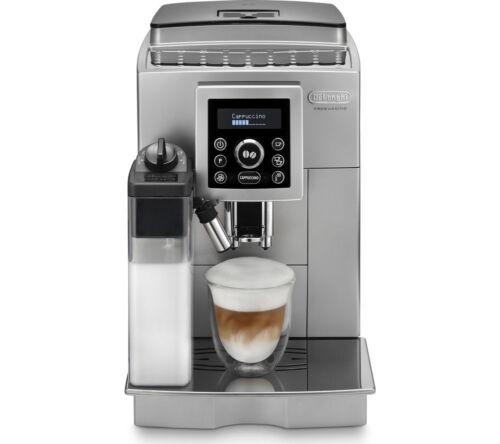 DELONGHI ECAM23.460 Bean to Cup Coffee Machine - Silver & Black - Currys