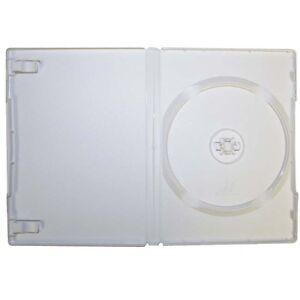 Claras/Translúcidas Caja de DVD 14MM Grueso (Tamaño Estándar) 100 Carcasas