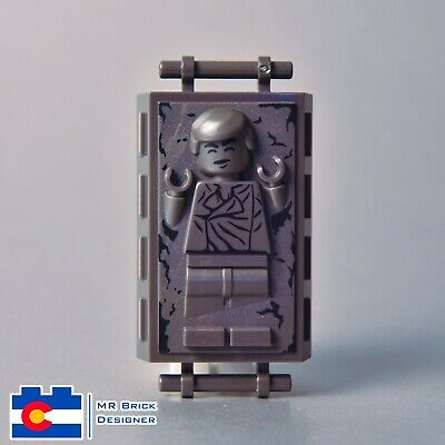 Han in Carbonite Minifig 75137 LEGO Star Wars Minifigure Han Solo