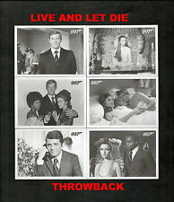 2014 James Bond Archives LIVE AND LET DIE Throwback Set Card #63
