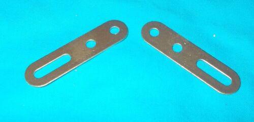 No55a doré meccano 2 bandes glissière 5cm