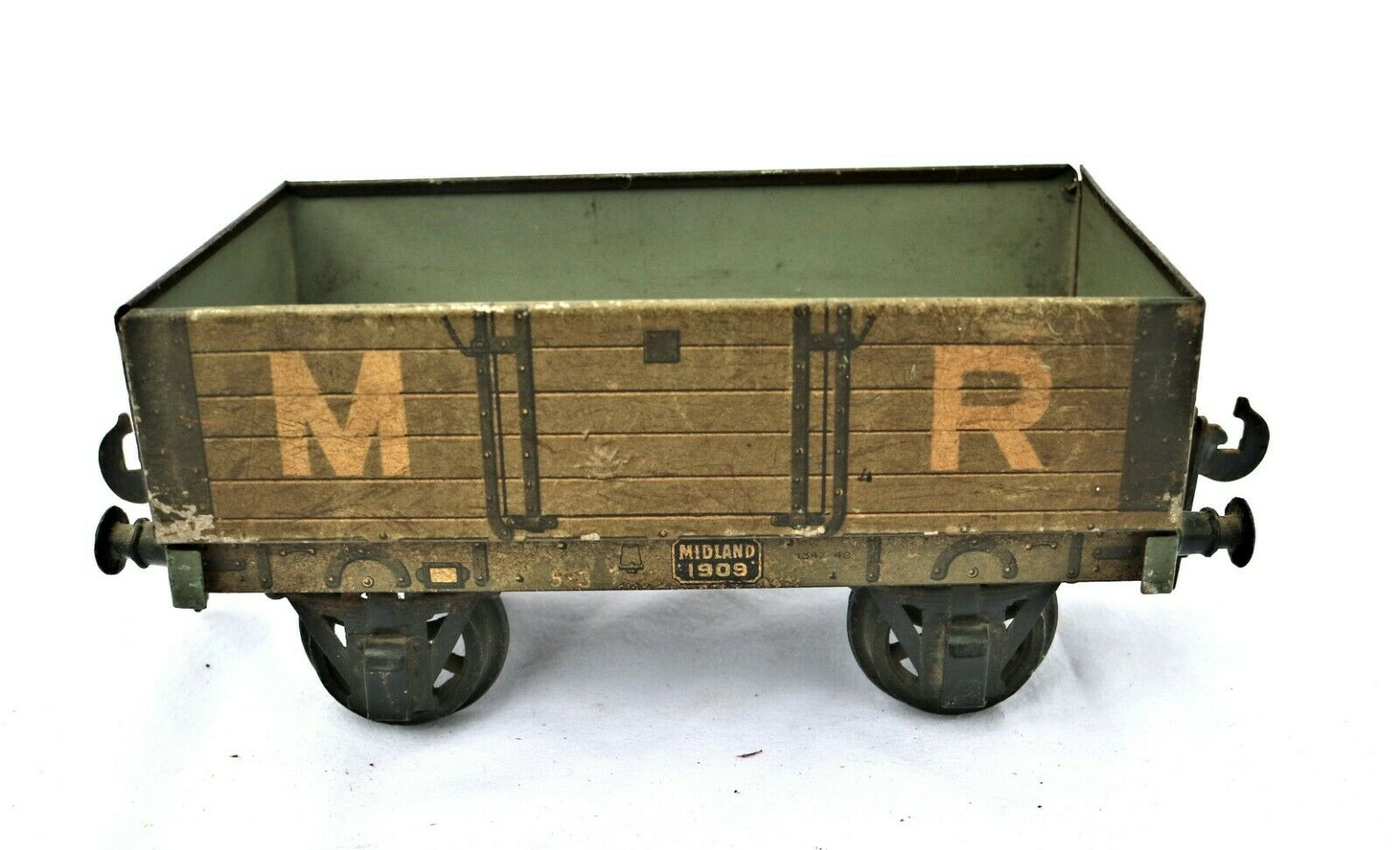 G63B Vintage Carette O Gauge MR Open Wagon No.1909 Cat. No. 1342-48