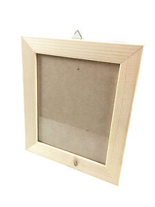 Wall Hanging Real Wooden Picture Frame Paint Your Own Colour 65 X