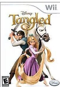 Tangled Nintendo Wii Kids/girls Game Disney U