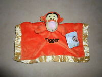 Disney Baby Tigger Soft Plush Baby Snuggle Blanket, Ages 6+ Monthsnew With Tags