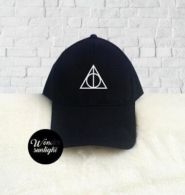 "Harry Potter Deathly Hallows /""Always/"" Snapback Snape Cap Hat Christmas Gift Boys"