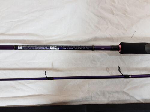 Clearance Daiwa Saltist Bass 8/' 14-42g SLT 802HFS 2pc Spin Rod