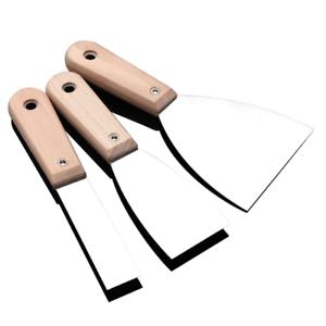 "Stainless Steel Blade Tool 1/"" HEAVY DUTY Wallpaper//Paint Scraper Wooden Handle"