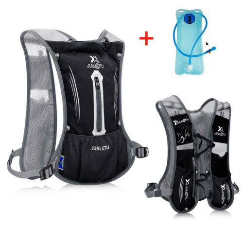 Hydration Pack Sports Backpack Bag 2L Water Bladder Bag Cycling Running Vest New