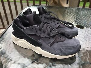 Details about Nike Air Huarache Run Mens Size 12 Anthracite Gray Black Bone  NEW 704830-016