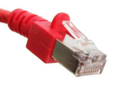 1.5m Cat5e Rj45 8p8c Utp Lan Ethernet Rete Patch Rete Cavo Cavo Red Rosso
