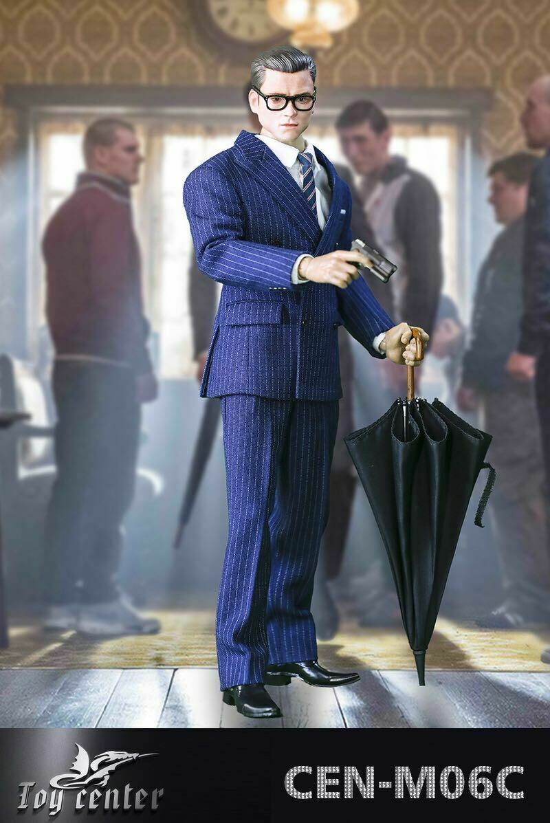 giocattolo Center Center Center 1 6 reSuomo Royal Agent autobusiness Suit Set Head autoved with Gun Dog a9d6a3