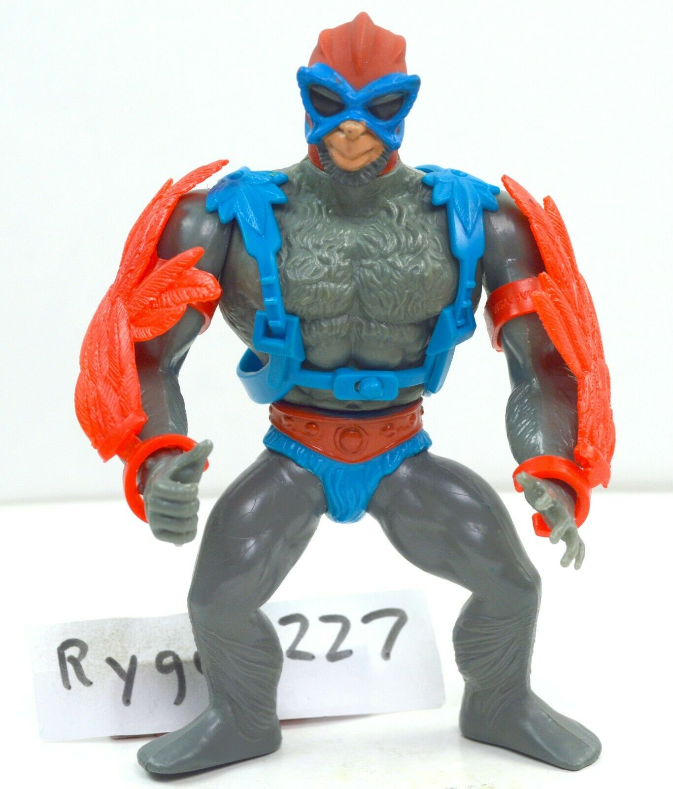 MOTU, Stratos, rot wings, Masters of the Universe, figure, complete, He Man