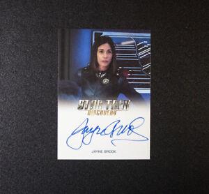 Star Trek Discovery Jayne Brook Autograph Vice Admiral Katrina Cornwell