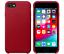 Apple-iPhone-8-7-SE-2020-Echt-Original-Leder-Huelle-Leather-Case-Rot-Red-NEU Indexbild 1