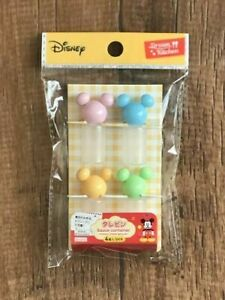 Disney-Mickey-Mouse-Soy-Sauce-Bottle-Pastel-4pcs-BENTO-Lunch-Box-Accessories