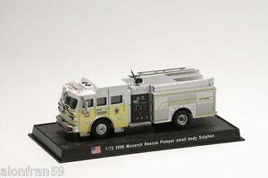 Coche-Bomberos-Diecast-2006-Monarch-Rescue-Pumper-1-72-Delprado-Feuerwehr-CBO142