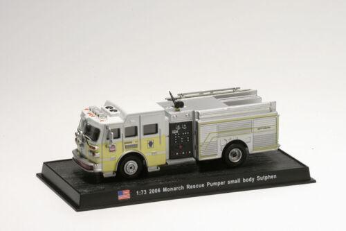 Coche Bomberos Diecast 2006 Monarch Rescue Pumper 1:72 Delprado Feuerwehr CBO142