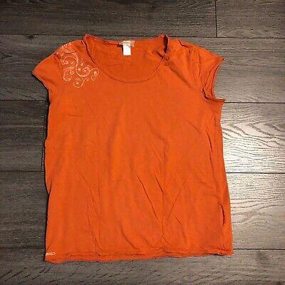 Janina Damen Oberteil Top Orange Gr.34,42,44 Neu